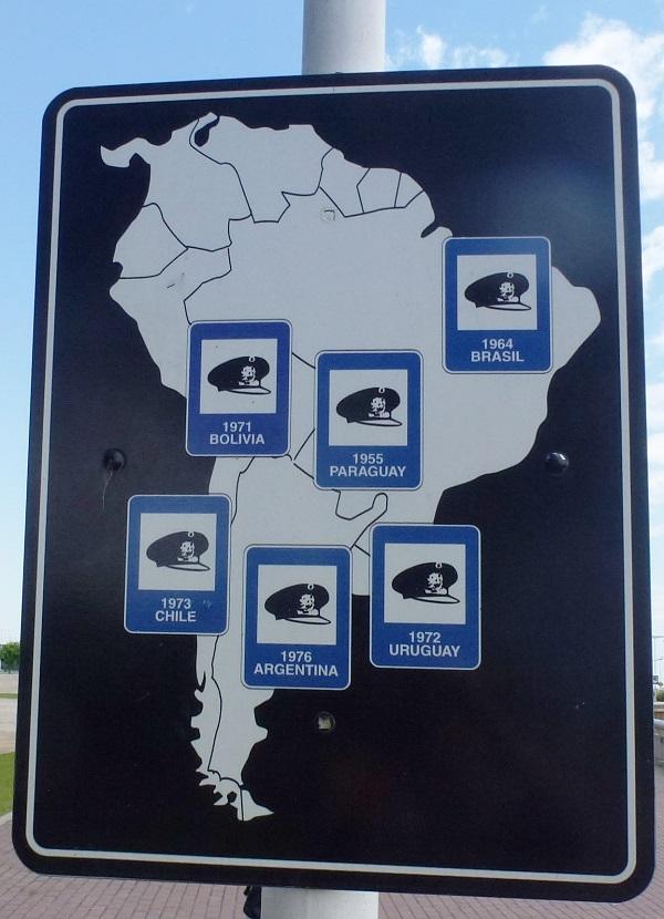 Militärische Staatsstreiche der 70er Jahre in Südaamerika